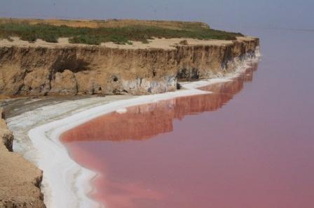 Розовая вода озера Сиваш является остатками древнего лемурийских моря