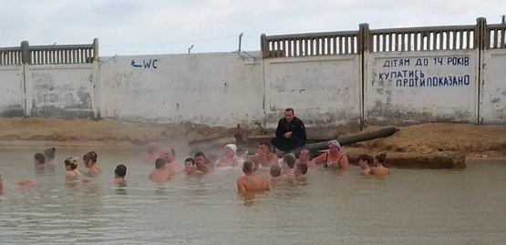 Детям до 14 лет купаться в источнике запрещено. Это просто вредно для ребенка