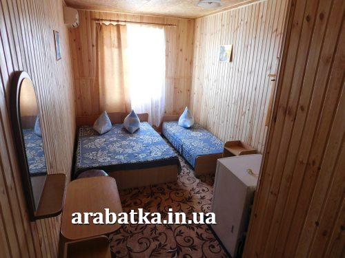 Пансионат Анастасия - комфортабельные номера на Арабатской стрелке по низким ценам